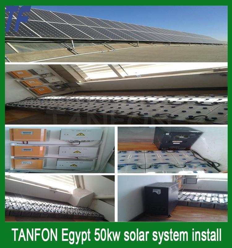 Solar Energy System 10kw Kit Solar Panel Roof Mount