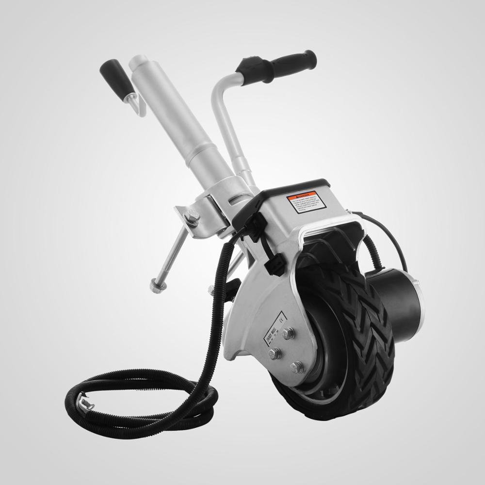 Motorised trailer jockey wheel 12v mover electric caravan for Motorized boat trailer mover