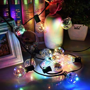 holiday christmas wedding party decoration indoor outdoor string lights
