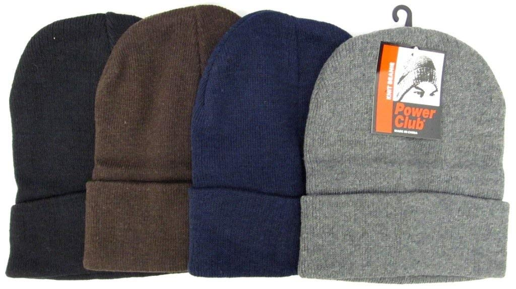Adults Assorted Knit Beanie 10.5 Inch Foldable [120 Pieces] *** Product Description: Adults Assorted Color Knit Beanies.Color Ratio: (6) Black, (2) Coffee, (2) Gray, (2) Navymeasures: Unfolded- 10.5 Inches (L), Folded- 8.5 Inches (L) Material: 60 ***