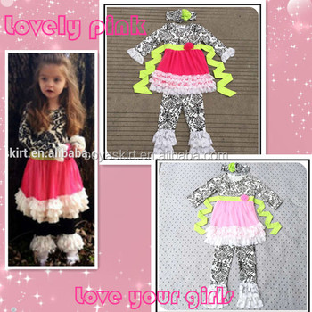 New Arrived Girls Wholesale Valentine S Day Clothing Baby Girl