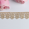 vintage garment frenchlace trim embroidery corded lace trim