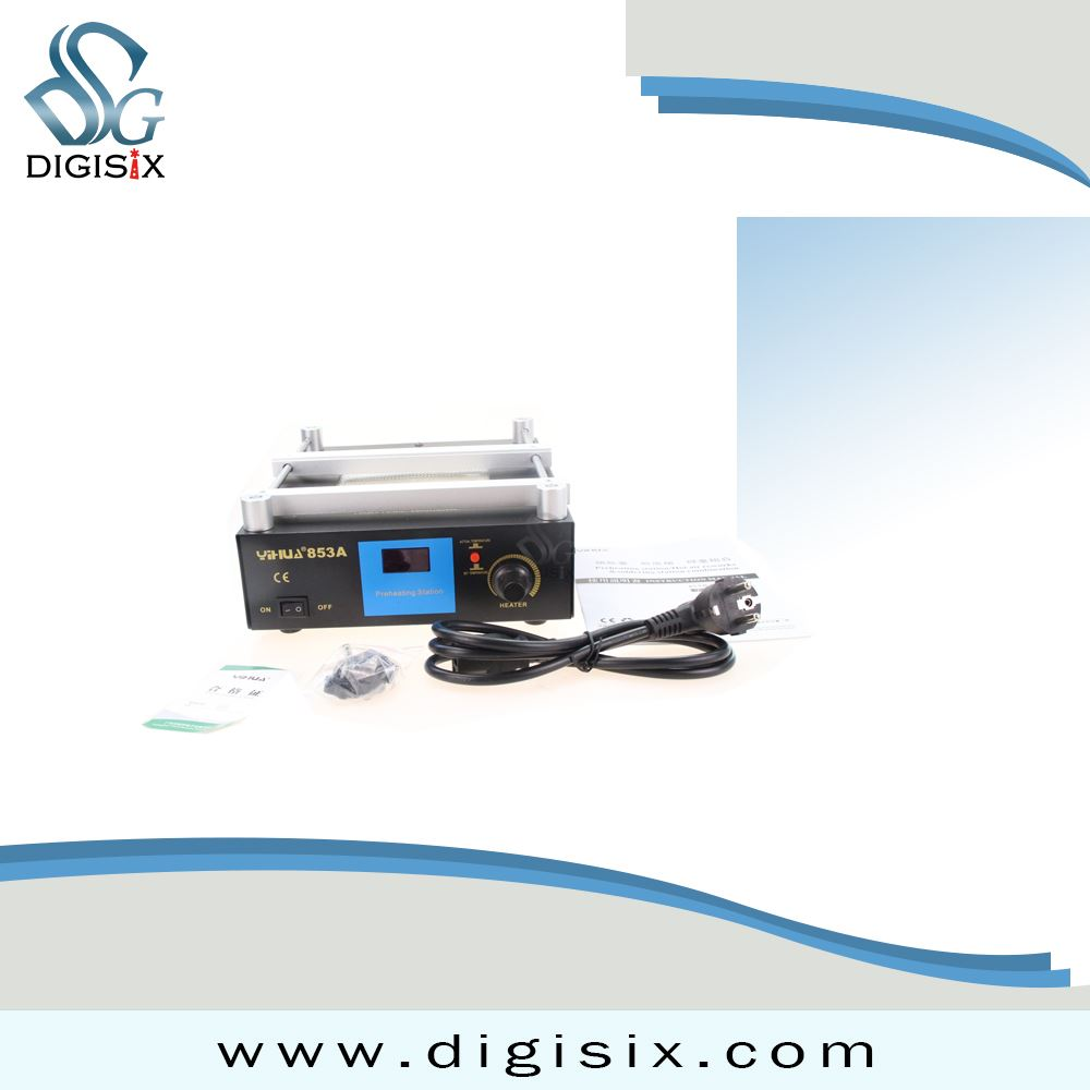 110V/220V YIHUA 853A High power ESD BGA rework station PCB preheat and desoldering IR preheating station