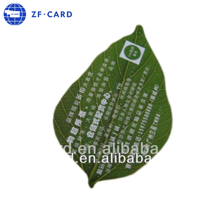 Leaf Shape Business Card Wholesale, Shaped Business Cards Suppliers ...