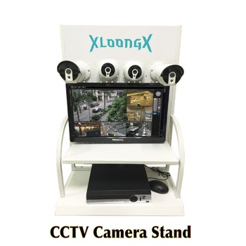 Mini Cctv Security Camera Counter Best For Cctv Demo Store Showroom  Exhibition Camera Dvr Nvr Stand Rack Metal Display Stand - Buy Camera  Display,Cctv