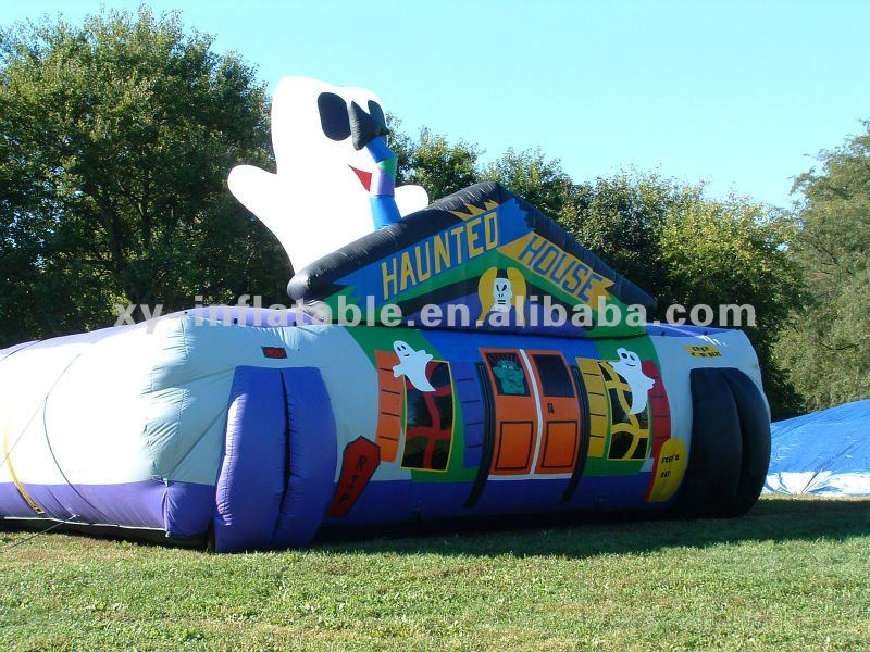2016 halloween inflatable haunted house