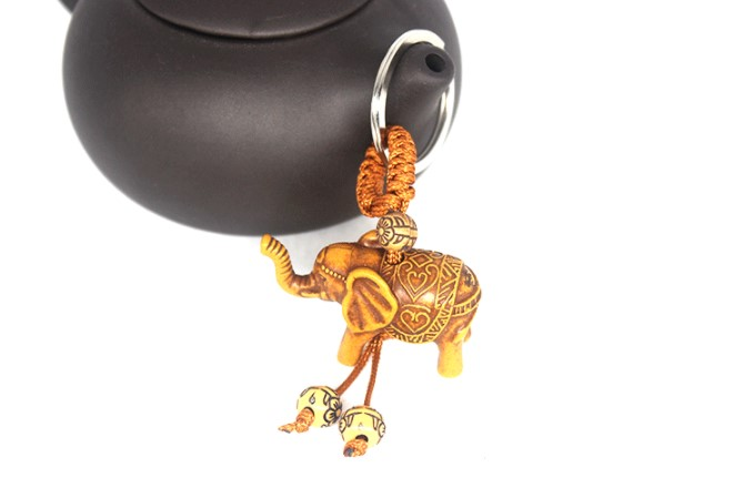 Cheap Promotional Gifts Elephant Keychain