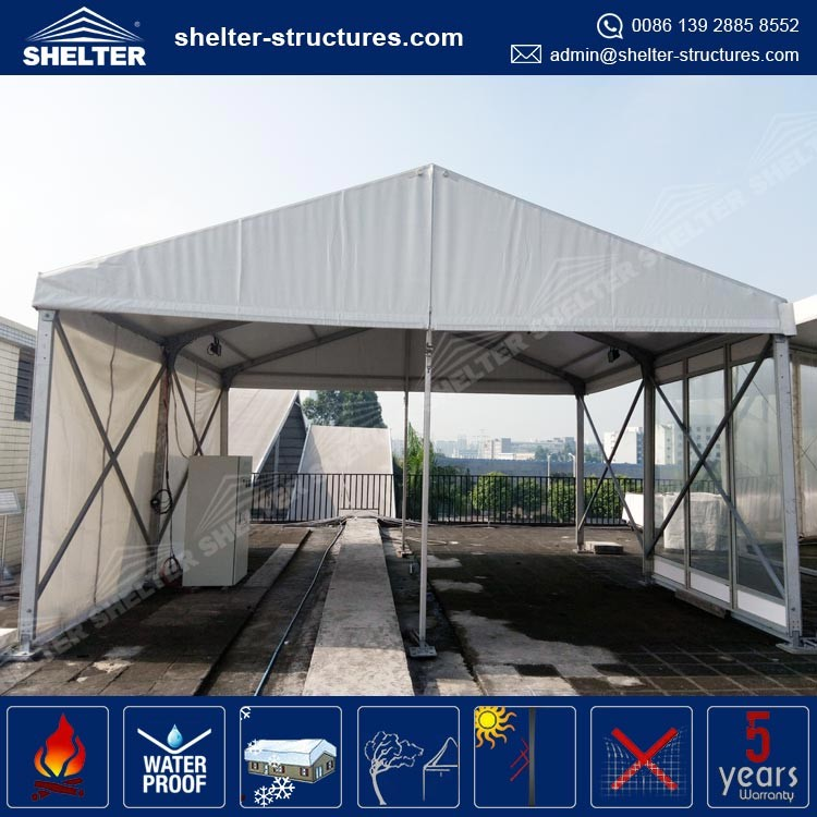 Qingdao Promotional second hand car tent for sale easy to install applican for Beijing Olympiad