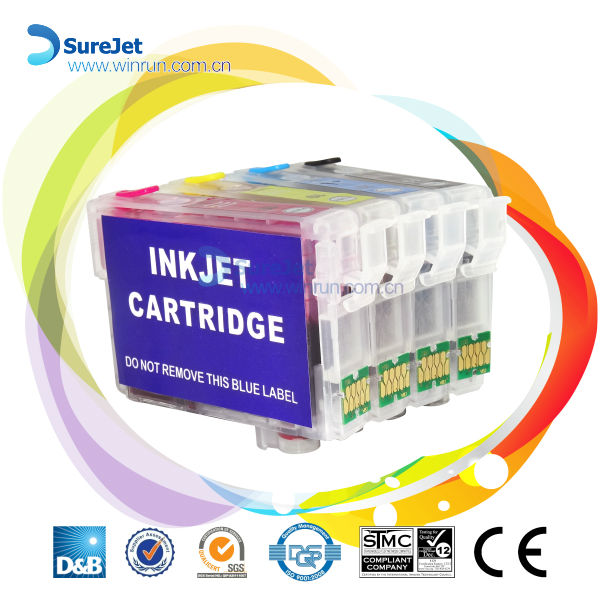 factory for sale T2201 T2202 T2203 T2204 refill ink cartridge for epson wf-2630 wf 2650 wf-2660