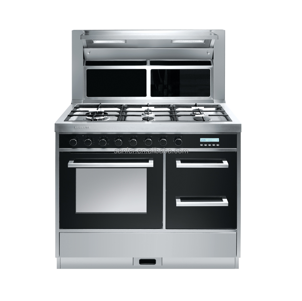 Range Hoods For Gas Stoves ~ Freestanding intergrated cooker portable electic oven gas