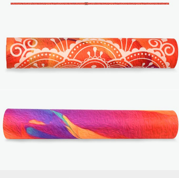 Dongguan Custom Made Decorative Rubber Yoga Mats