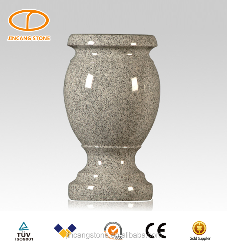 Wholesale Price Natural Granite Grave Vase For Monuments