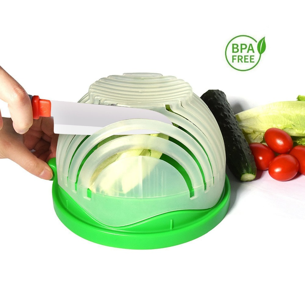 Amazon hot FDA Stock Blue <strong>PP</strong> 60 second vegetable slicer salad maker