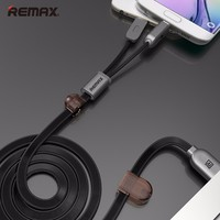 Original remax dreaming cable for Micro, 2 in 1 charge and data cable for android mobile phone