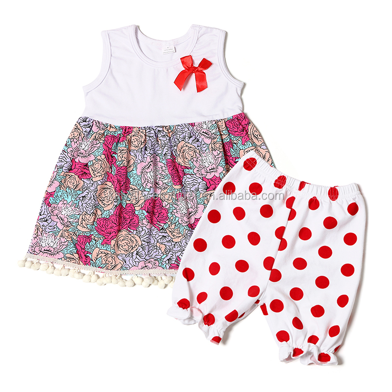 Wholesale Fashion fall baby girl clothing sets baby clothes