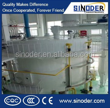 sunflower oil solvent extraction machine / meal leaching equipment / oil extraction equipment