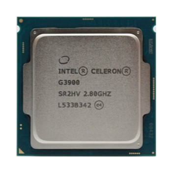 Desktop PC CPU Intel Celeron G3900 Cheap Price Good Quality Used Processor 2MB Cache 2.80GHz