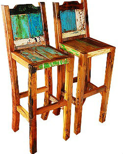 Stool Made Of Old Boat Wood Bws18   Buy Bar Stool,Bars Stools,Boat Wood  Furniture Product On Alibaba.com