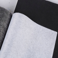 wholesale buckram fusing non woven fusible paper interlining fabric