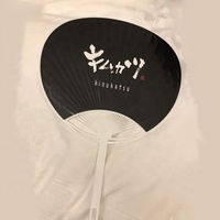 pp customised promotional souvenir round plastic japanese hand fan