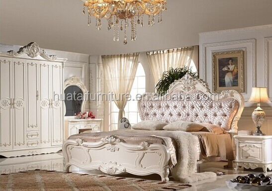 Old World Bedroom Set | European Style Bedroom Furniture