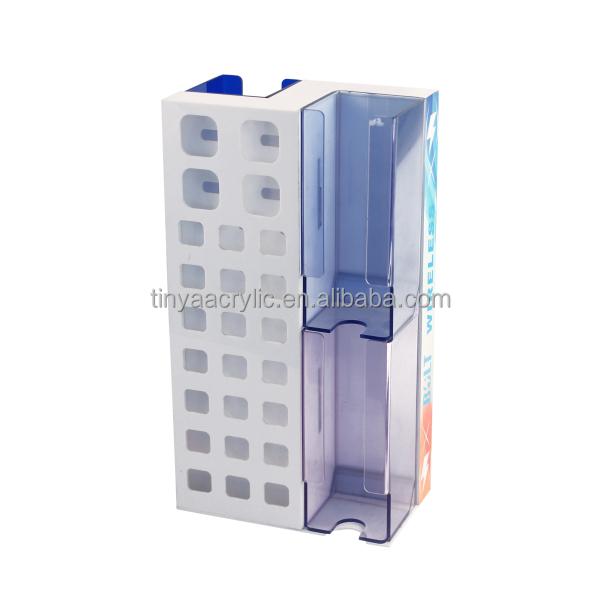 Cheap price Guaranteed quality Blue Desk Top Acrylic mobile Cell Phone Accessories Display Rack for retail store or wholesales
