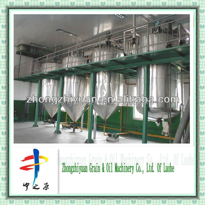 5T/24H Peanuts oil press/ Refine crude oil machine /refinery equipment