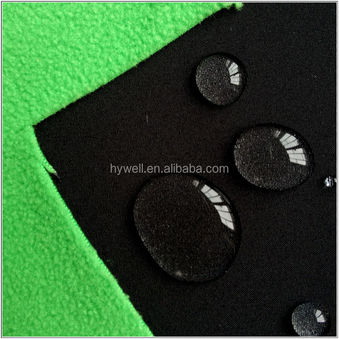 100% Polyester Water repellent fabric Wind resistant and Breathable fabric