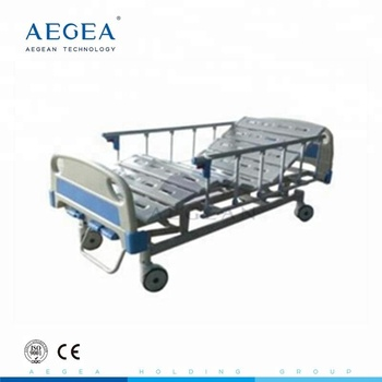 AG-BMS002 wholesale free 3 function used patient hospital manual crank surgical beds for sale