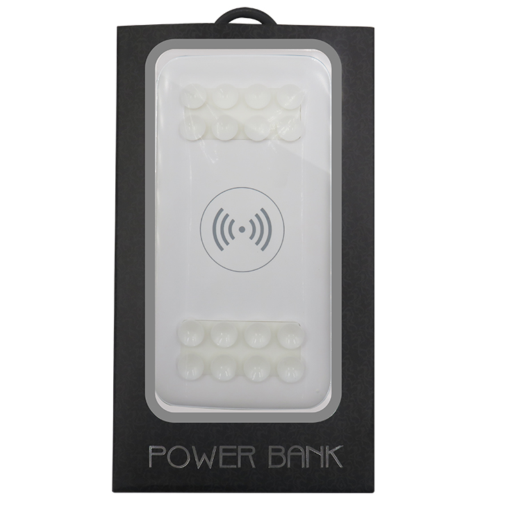 Fast Power Bank with Sucker