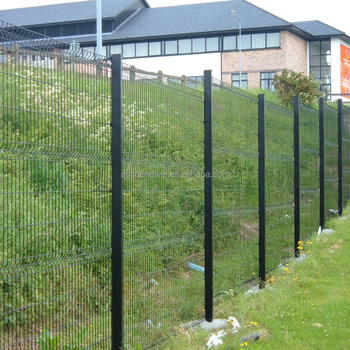 Powder Coating Uptown Wire Mesh Fence,Plastic Coated Welded Wire ...
