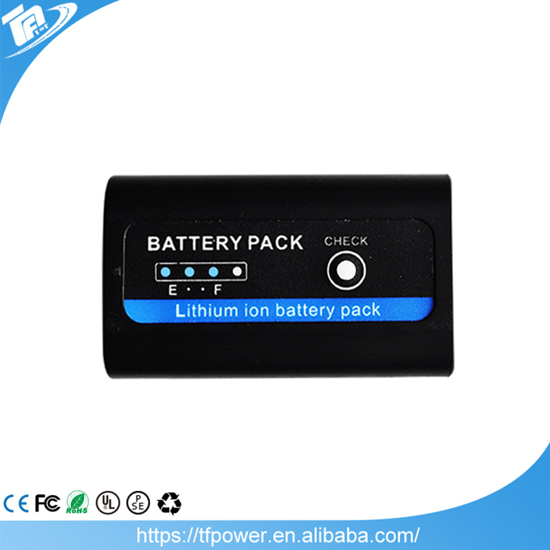 7.4v rechargeable li ion battery pack for JVC Cameras