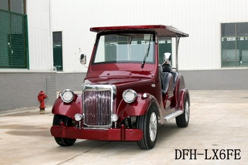 Factory directly supply passenger electric golf cart for sale DFH-LX6FE