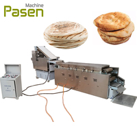 Automatic line for arabic bread / arabic bread machine / roti making baking oven line