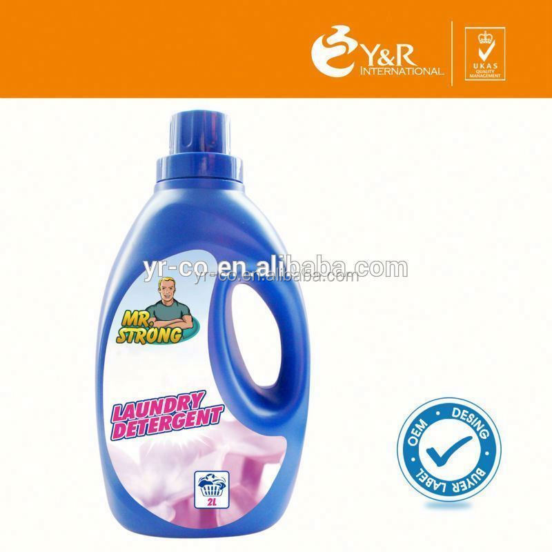 Clean protective clothing liquid laundry detergent to remove tough stains