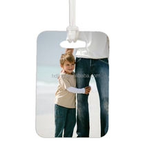 personalised hard durable luggage tag with photo (HC-028)