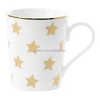 Wholesale customized fine bone china porcelain coffee mug