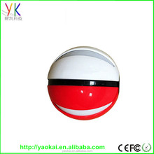 2016 Potable Large Capacity Pokemon Go PokeBall, pokemon ball power bank
