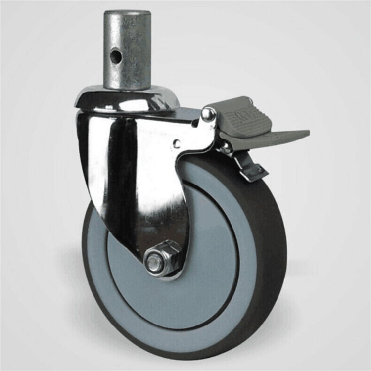 Hot-selling hospital bed caster at reasonable prices madical swivel caster wheel