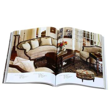 Cheap coloring high quality furniture catalog printing
