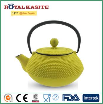 Amazon Hot Sell Japanese Tetsubin Tea Kettle Cast Iron Teapot With