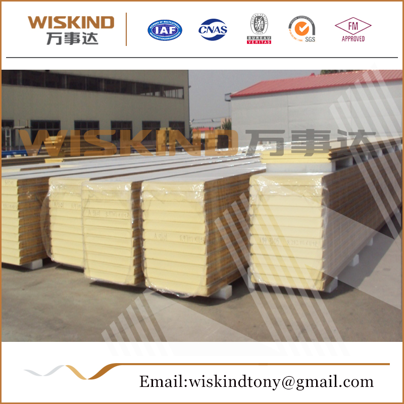 High quality eps cement sandwich wall panel/polyurethane sandwich panel