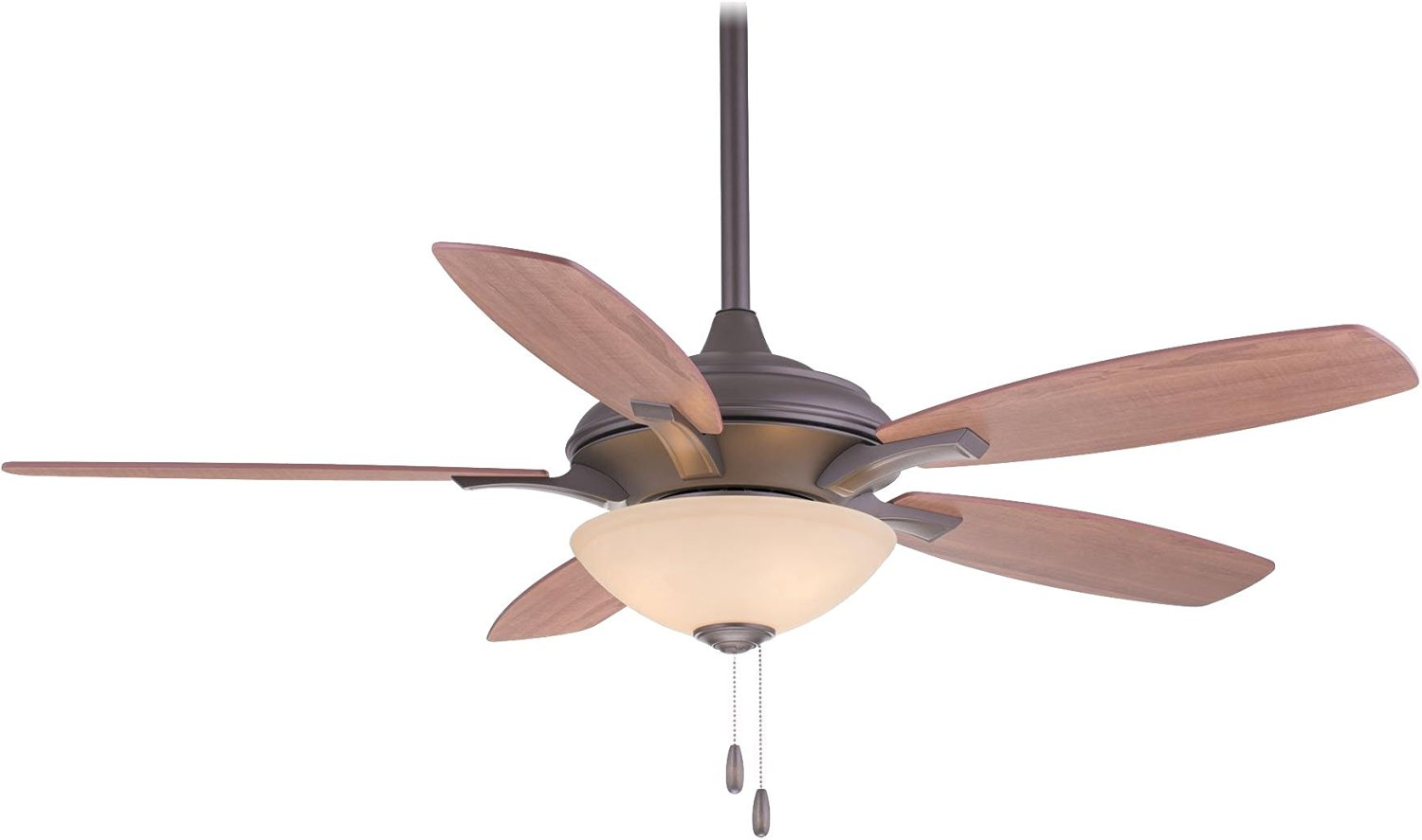 "Minka-Aire F470-ORB, Hilo Oil-Rubbed Bronze 52"" Ceiling Fan with Light"
