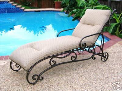 Wrought Iron Chaise Lounge   Buy Chaise Lounge Product On Alibaba.com