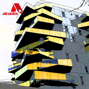 2018 ACP ACM China suppliers exterior wall decorative aluminum composite panel 15 years warranty