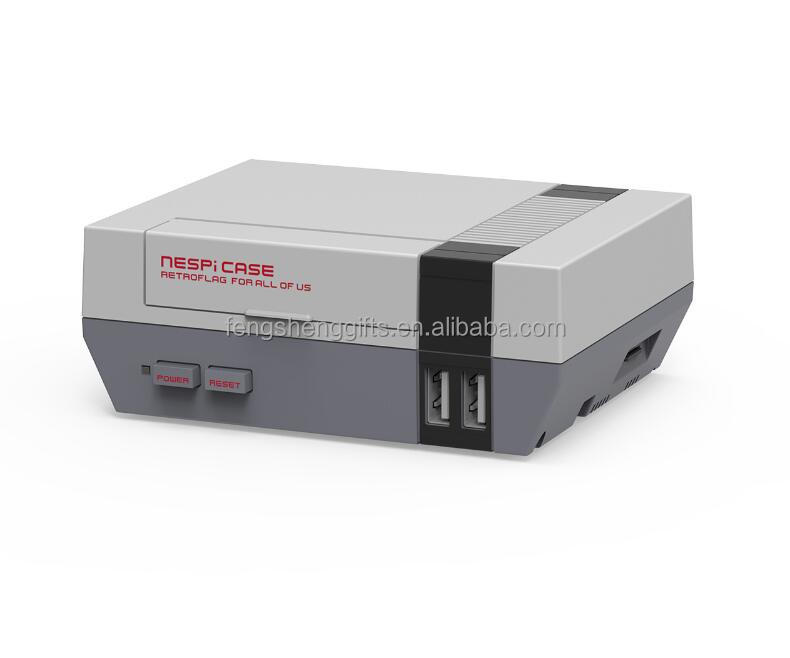 Stock Newest NESPI FOR RASPBERRY PI Case 1/PI 2/PI 3 MODEL BY OLD SKOOL TOOLSY NES Shell