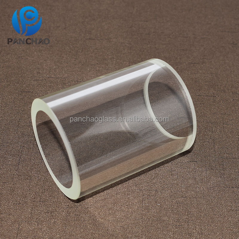 Grote Diameter Crystal Clear Quartz Glas Cilinder Gemaakt In China