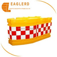 High quality Road safety PE traffic water filled plastic barrier supplier