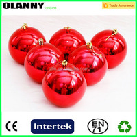 high quality customized handmade christmas led ball lighted decoration ornament