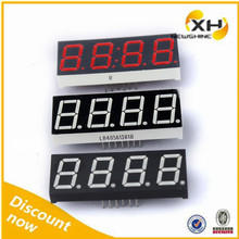 NEWSHINE Red Green Blue White FND Display 4 Digit 7 Segment LED 0.39""